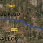 Map Denia Vergel