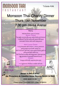 Monsoon Thai Charity Dinner